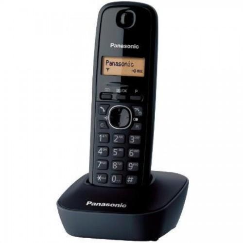 Радиотелефон Panasonic KX-TG1611CAH, полифония, без автоответчика, темно-серый