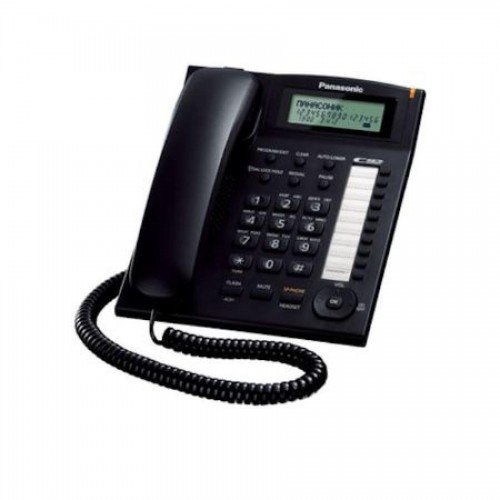 Телефон Panasonic KX-TS2388 RUB черный
